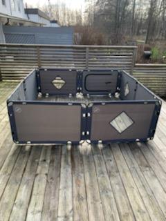 Hundgård portabel med väska