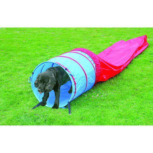 Hund agility tunnel längd 5m, diameter 60cm