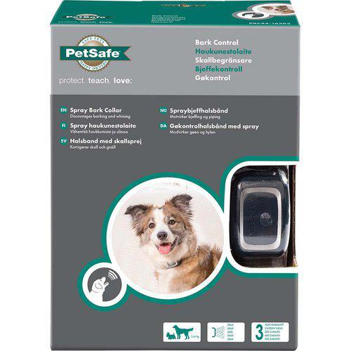 Antiskallhalsband för hund Spray patron