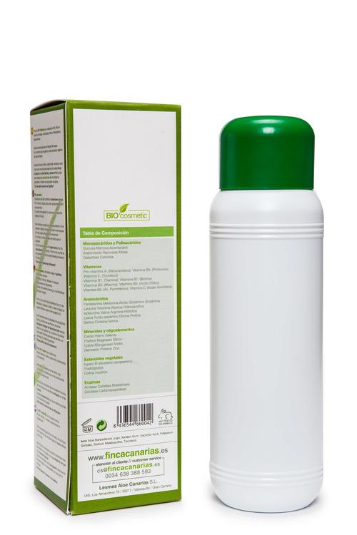 Färsk kallpressad Aloe Vera Gel 250ml - 99,7 % Aloe Barbadensis Miller