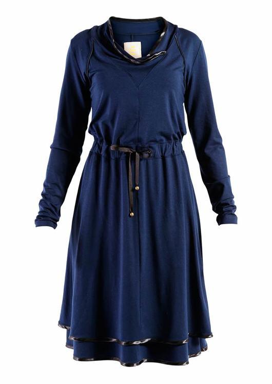 ELLA LAYERED JERSEY DRESS