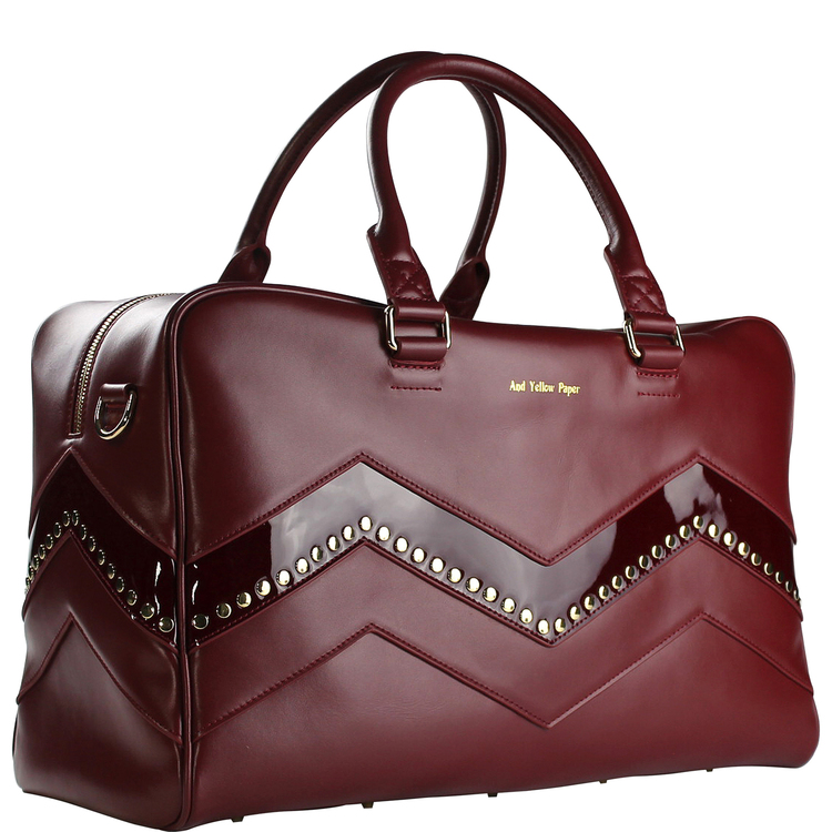 AYP WEEKEND / GYM BAG BURGUNDY