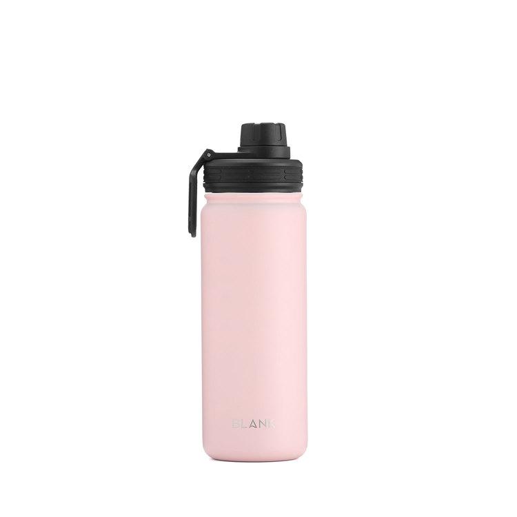 Termosmugg och rostfri vattenflaska i ett – Blank 530 ml Rosa