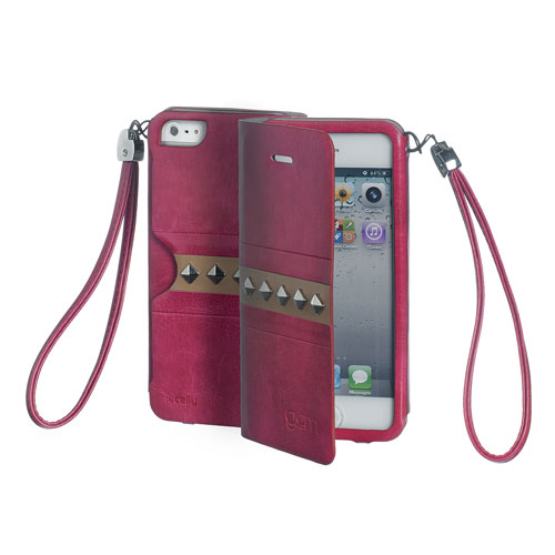 Celly Glamme Agenda Nitar iPhone 5S/5 - Fuschia
