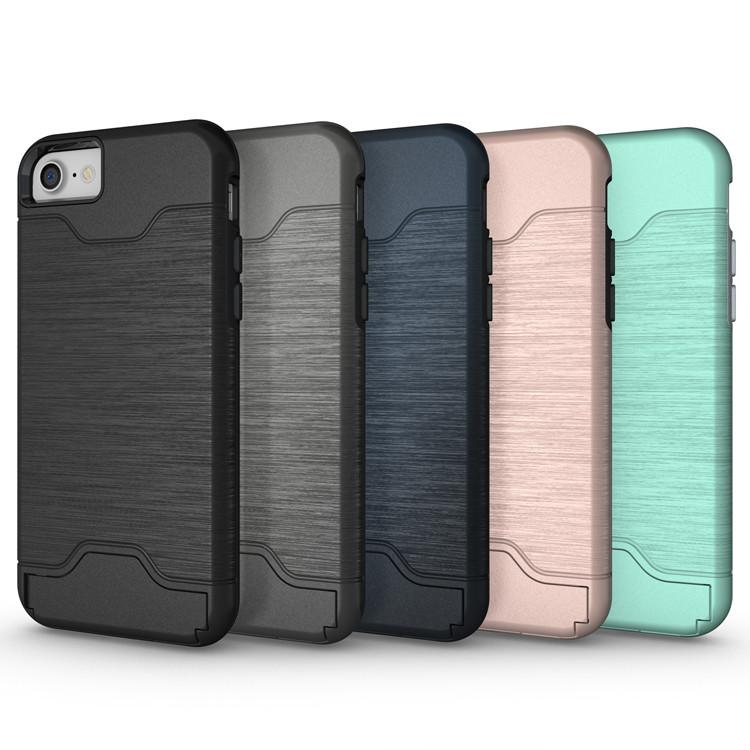 Elegant iPhone 6 Plus Skal med kortfack