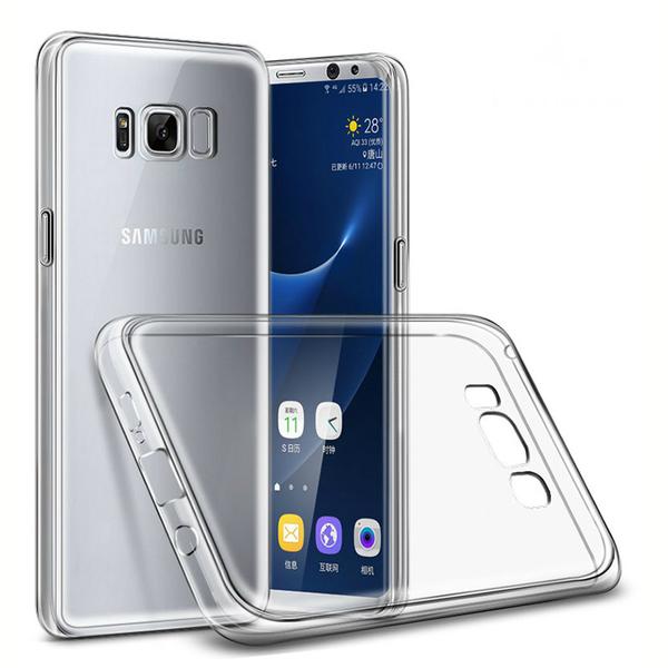 Genomskinligt tunn skal till Samsung Galaxy S8