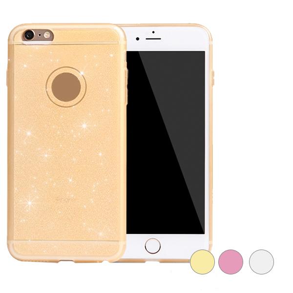 Glitter silikonskal i flera olika färger för iPhone 6/6s