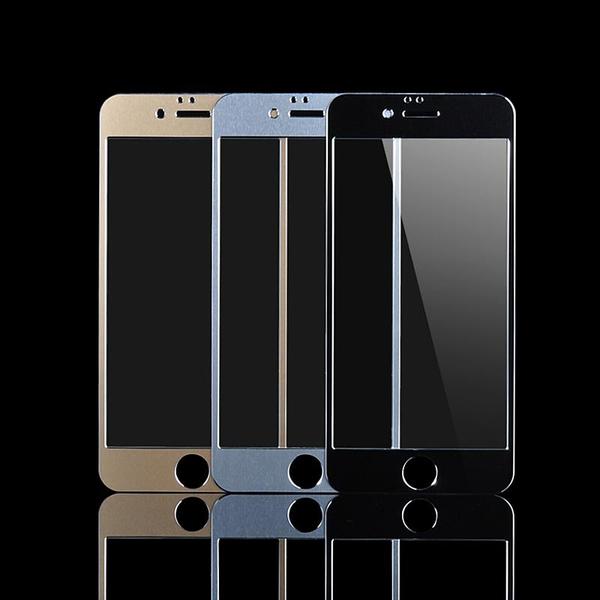 iPhone 6 / 6S Aluminium Härdat Glas