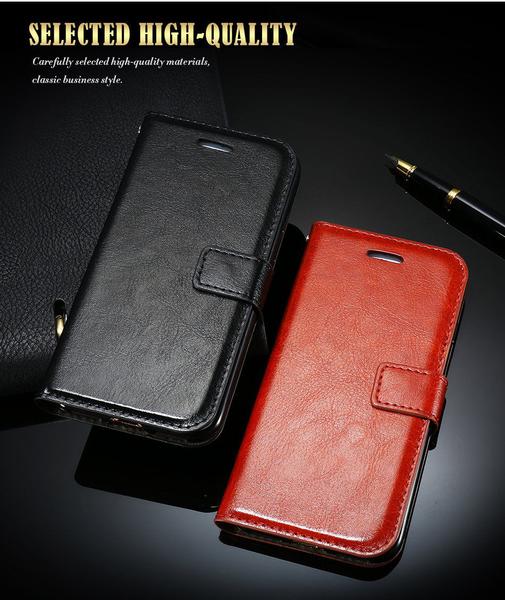 IPhone 7/8 exklusive plånbokfodral med ställ