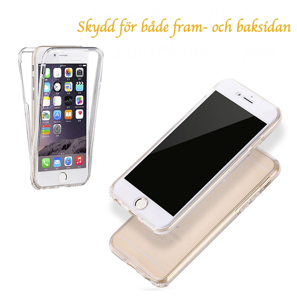 iPhone 7/8 | Dubbelsidigt Silikonfodral