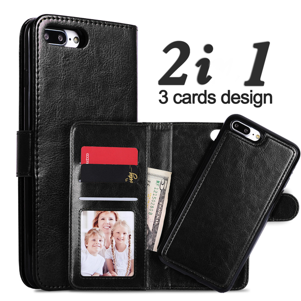 "Magnetskal/plånbok ""2 i 1"" iPhone 6 Plus/ 6S Plus - Flera färger"