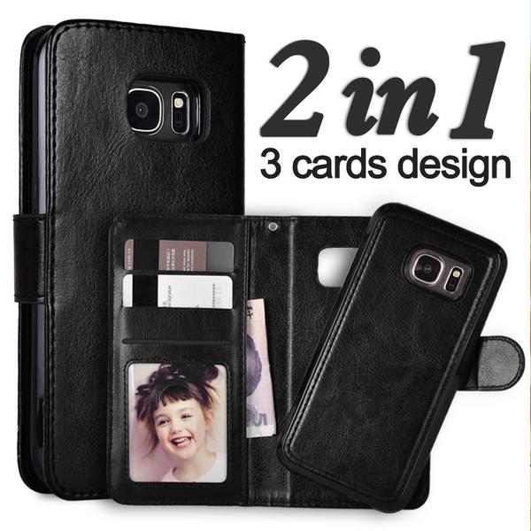 """Magnetskal/plånbok """"2 i 1"""" iPhone Samsung S6"""