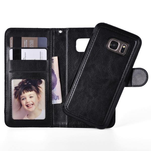 "Magnetskal/plånbok ""2 i 1"" Samsung S7 Edge - Flera färger"