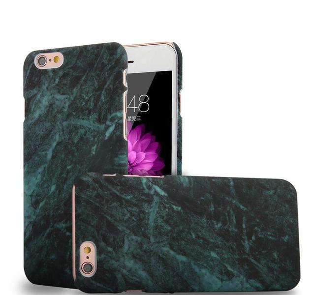 Marmorskal till iPhone 7/8 -Flera färger