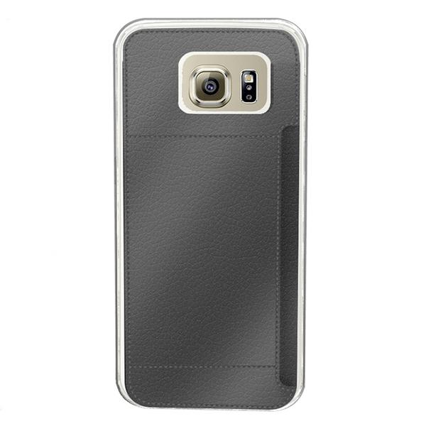Muvit Crystal CardCase Galaxy S7 Svart