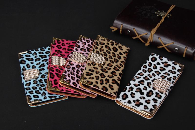 Plånboksfodral leopard till Iphone 6