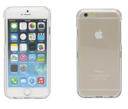 Skal iPhone 6 transparent fram & baksida