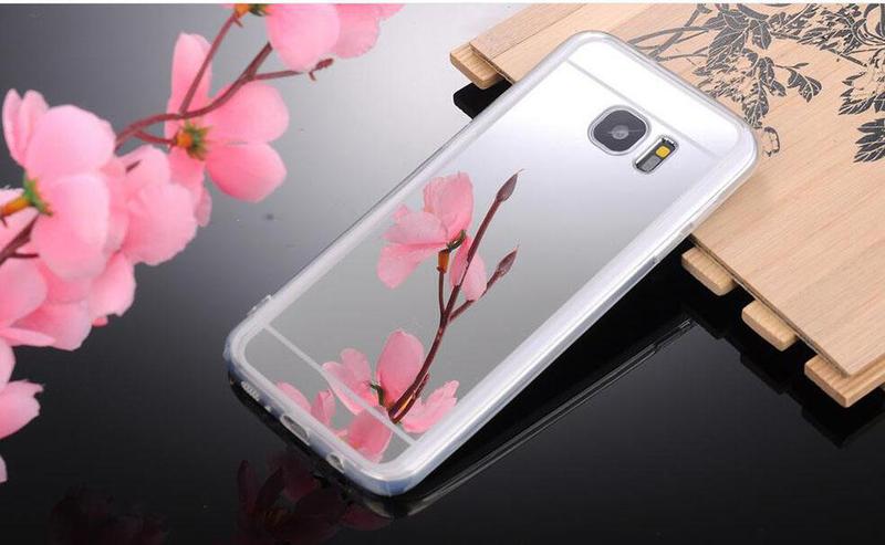Spegel skal för Samsung s8 (Flera färger)