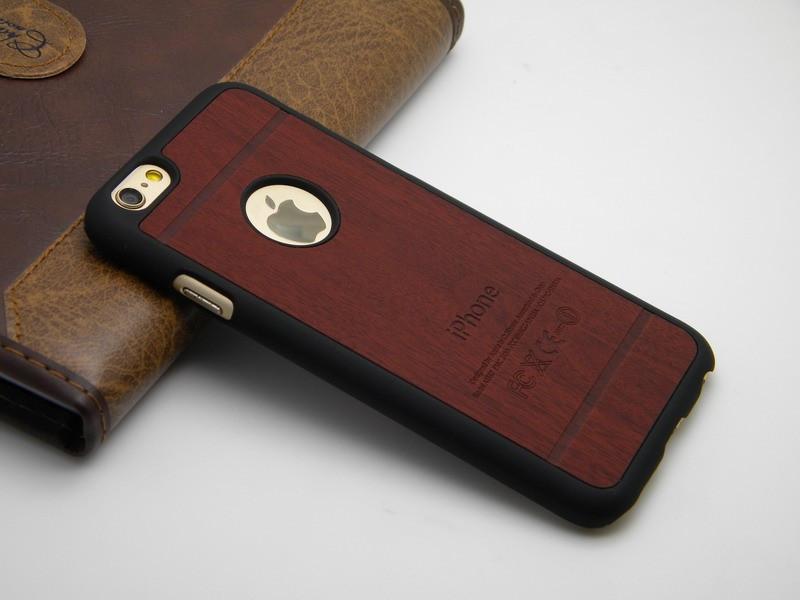 Trä skal för iPhone 6 plus / 6s plus