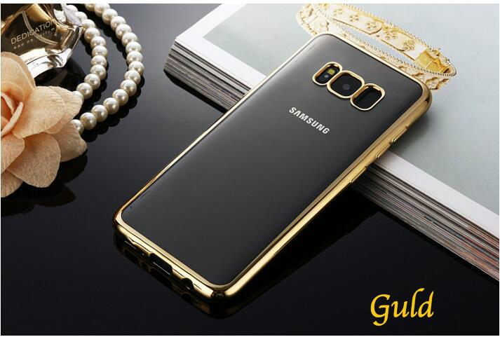 Trendigt & Lyxigt Gummiskal TPU | Samsung S8 -Flera färger