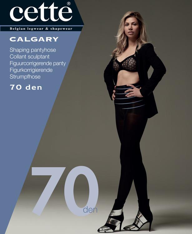 Strumpbyxa med shaping stödbyxa 70 den svart Calgary 2 XL