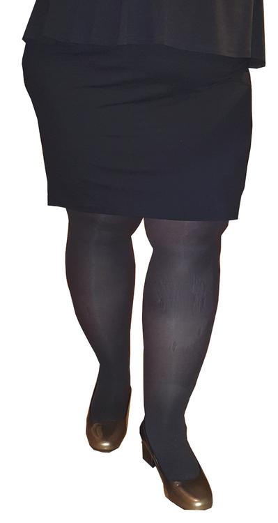 Strumpbyxa täckande 50 den grå/svart  - Glasgow 2XL