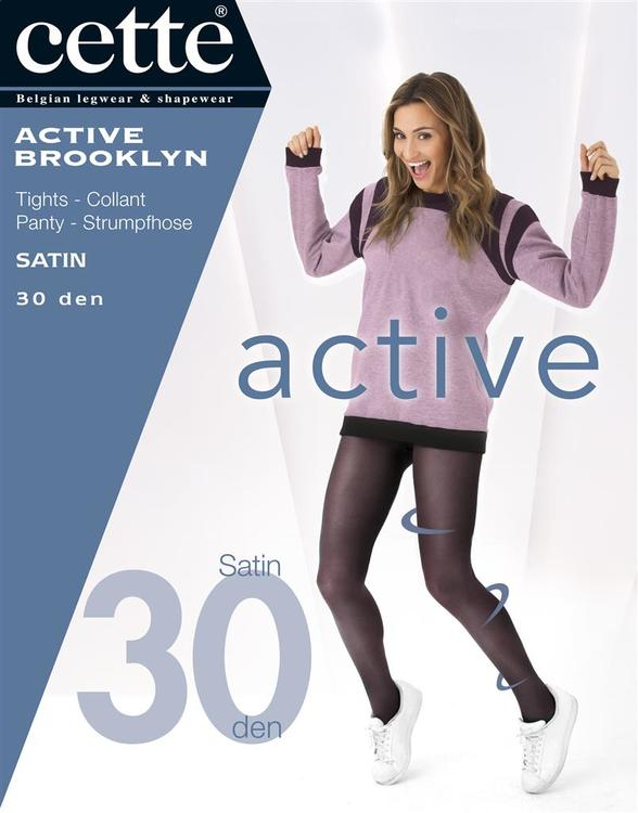 Strumpbyxa Active Brooklyn 30 den brun XL