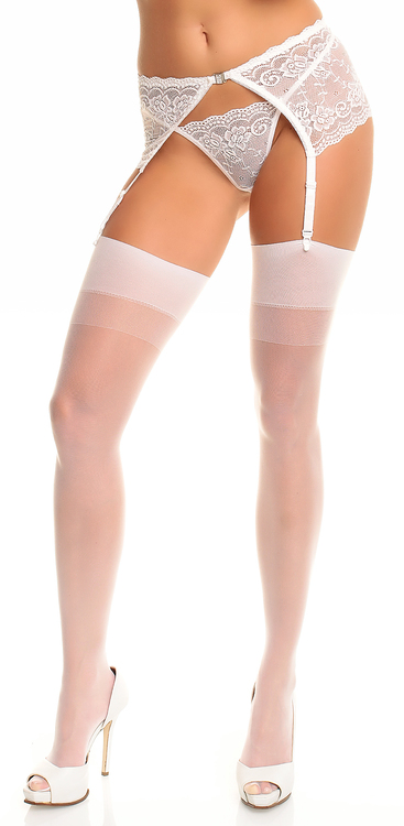 Stockings Large vit