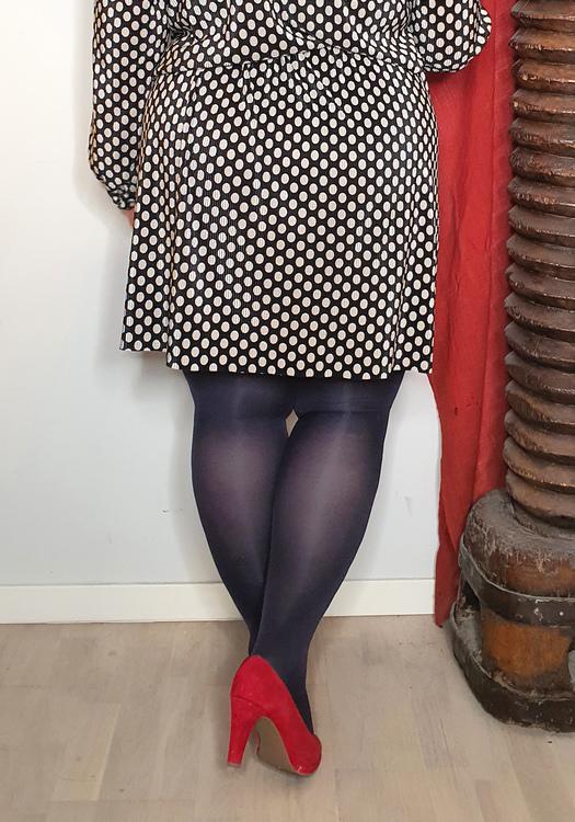 Strumpbyxa blå/svart 60 den Dublin 3 XL