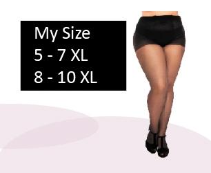 27c763c6c15 Vi säljer Plus size strumpbyxor för kvinnor och män. Klänningar, toppar &  byxor från storlek 48 - 86