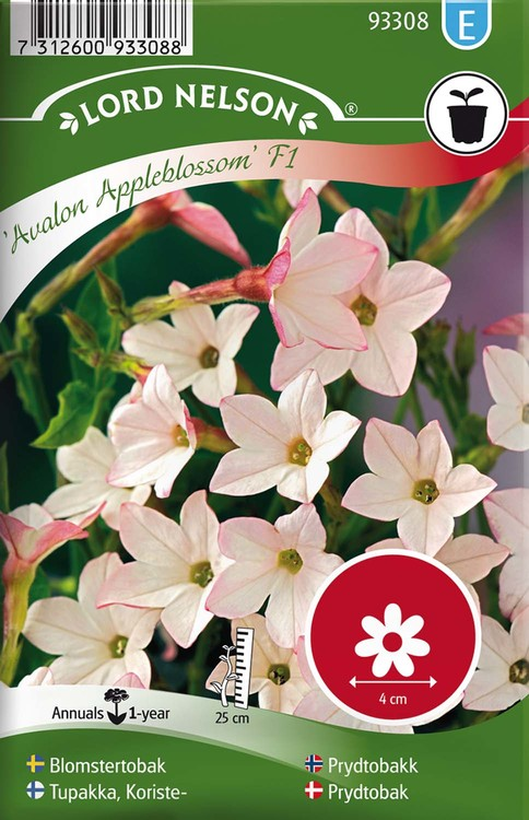 Blomstertobak, Avalon Appleblossom F1