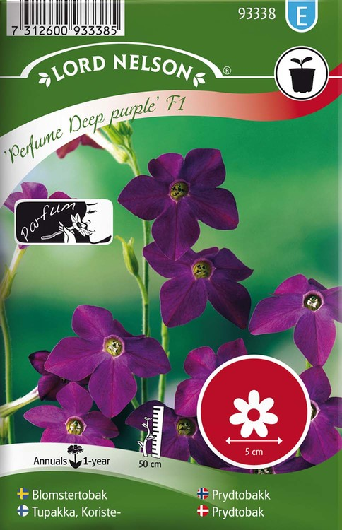 Blomstertobak, Perfume Deep Purple F1