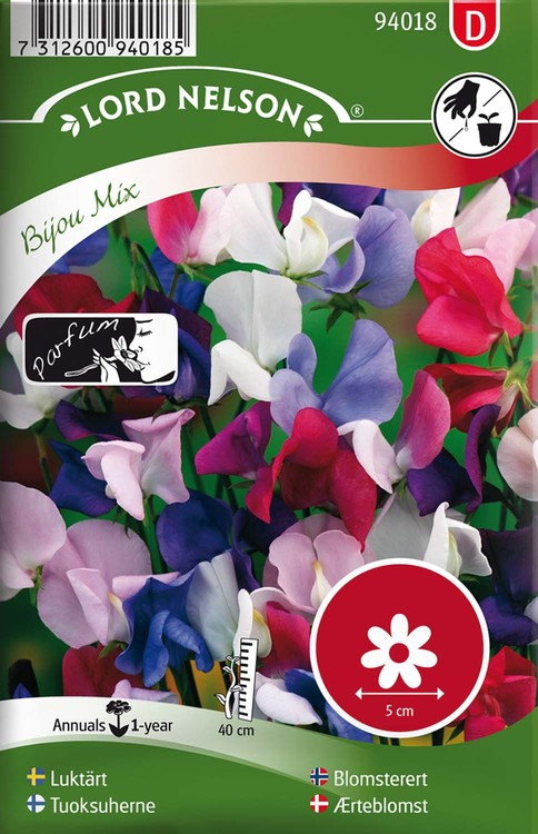 Luktärt, Bijou Mix, låg