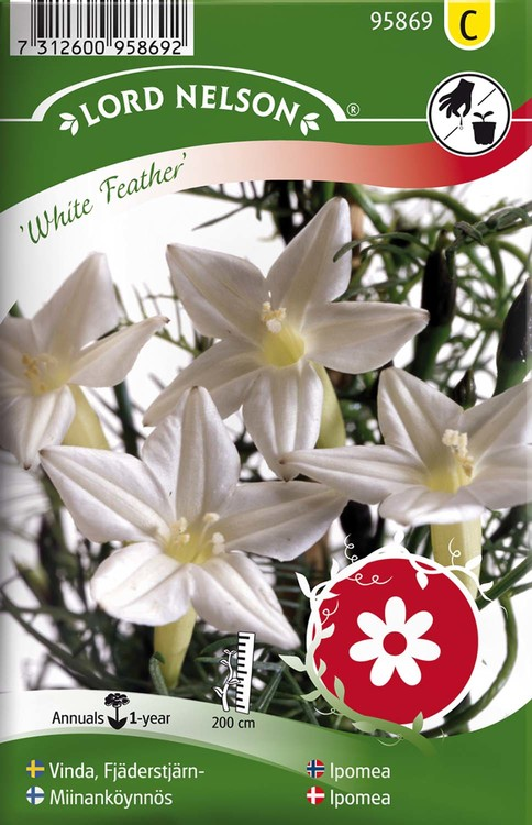 Vinda, Fjäderstjärn-, White Feather