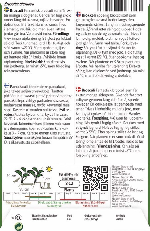 Broccoli, Healthy Option F1