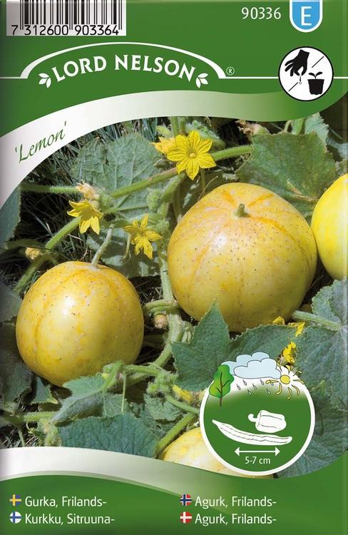 Gurka, Äppel-, Lemon