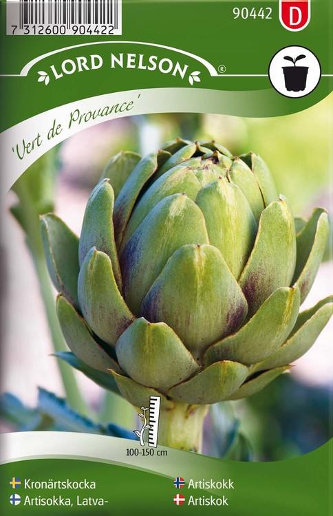 Kronärtskocka, Vert de Provence