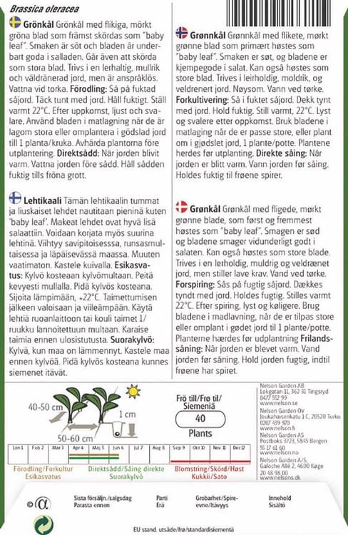 Kål, Grön-, Kale Fizz