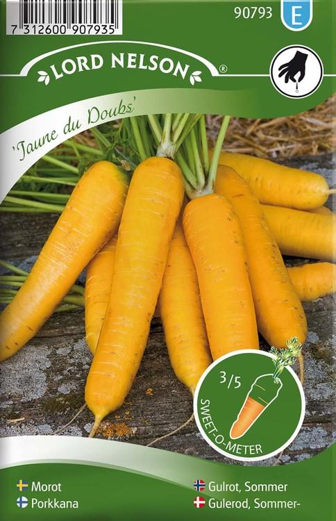 Morot, Sommar-, Jaune du Doubs, gul