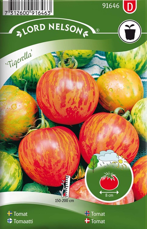 Tomat, Hög, Tigerella, Strimmig