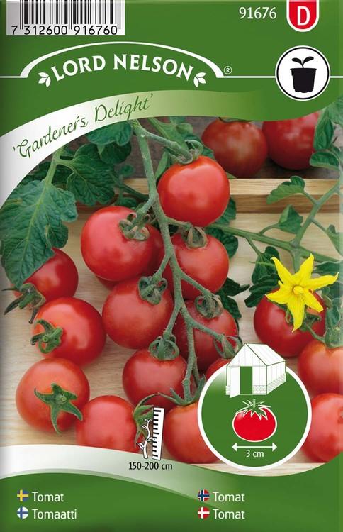 Tomat, Hög, Gardener´s Delight