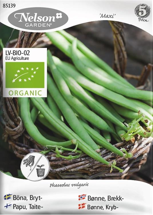 Böna, Bryt-, Maxi, Organic
