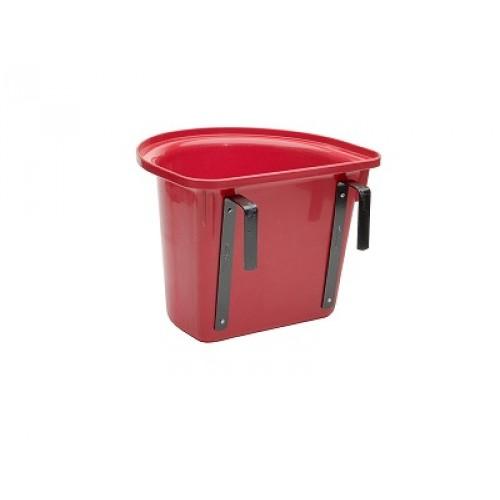 Transportkrubba röd 10L
