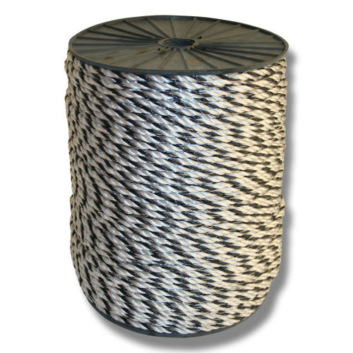 Elrep Starline 5 mm / 300 m svart/vit