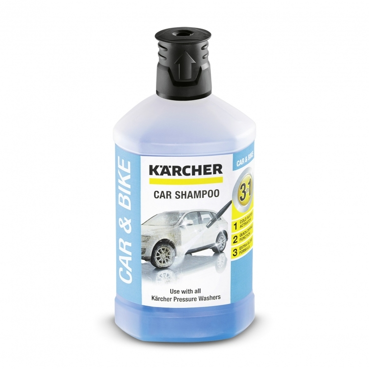 CAR SHAMPOO 3IN1, 1L