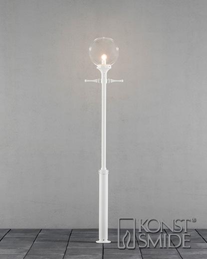 Orion lykta E27 vit ink stolpe