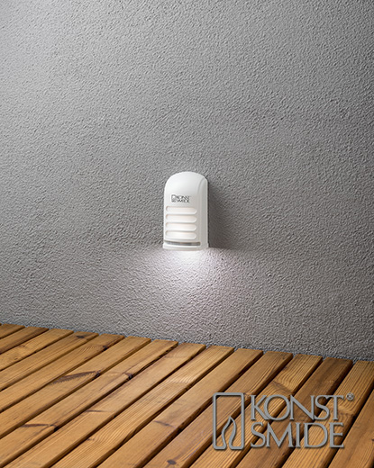 Prato vägglykta LED vit
