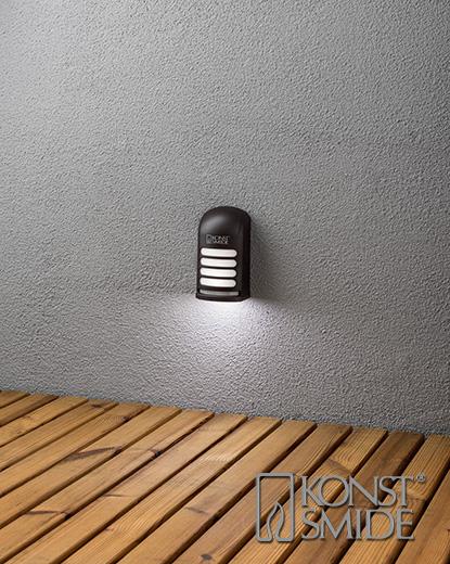 Prato vägglykta LED svart