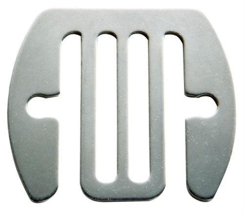 Skarvbleck rostfri 40 mm 5st