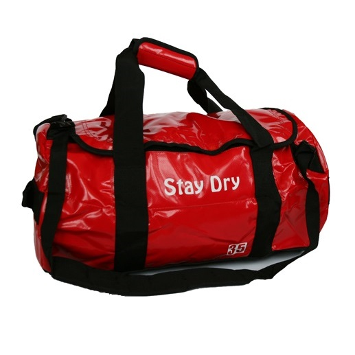 Stay Dry - Classic Red/Black 35L